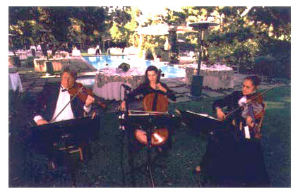 Caprices Strings in the Garden
