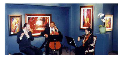 Caprices Strings San Diego Art Gallery Opening